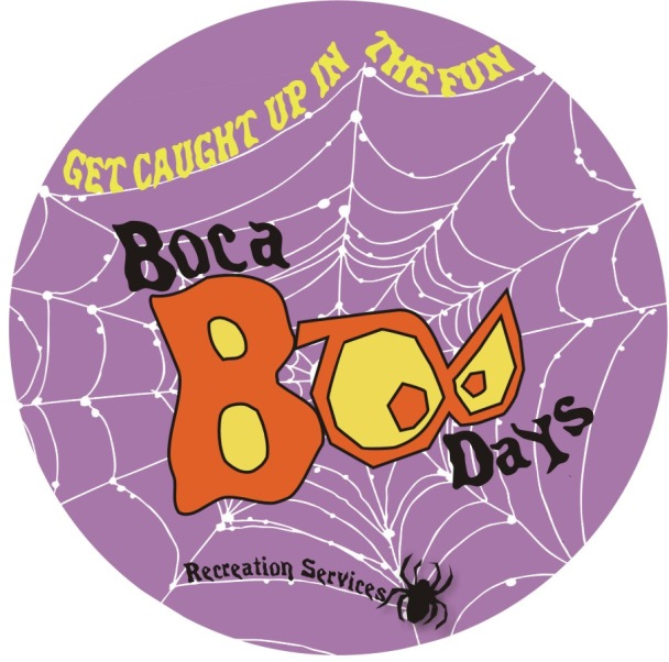 Boca Boo Days graphic - text